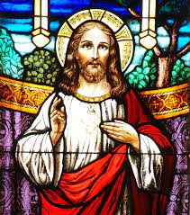 Sacred Heart of Jesus in Stained Glass Photograph by Philip Ralley