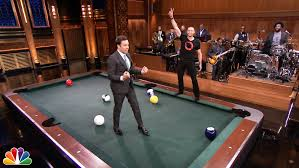 life size pool table pool bowling with hugh jackman youtube