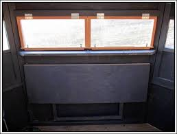 deer blind windows ple plexiglass deer blind windows as
