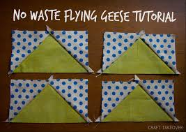 No Waste Flying Geese Tutorial | Craft Takeover & No Waste Flying Geese Tutorial Adamdwight.com
