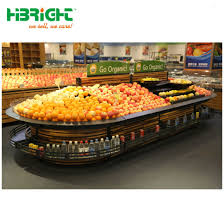 Wooden Fruit Display Stands Beauteous China Wooden Vegetable Rack Fruit Display Stand For Supermarket