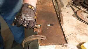 fireplace damper repairs pt 8 reclaiming the tabs by old sneelock s work you