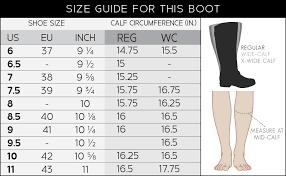 Calf Measurement Chart Journee Collection Womens Regular And Wide Calf Inside Pocket Buckle Boot