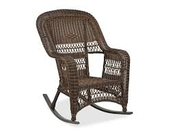 lakes aluminum resin wicker rocking chair