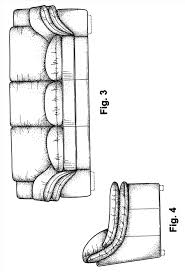 couch drawing side view. learn how to draw a couch furniture step by patent usd google patents drawing side view p