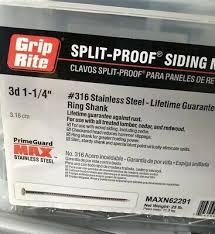 25 lb ring shank siding nails maxn62291