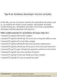 Sql Developer Resume Sample top10000sqldatabasedeveloperresumesamples10000lva100app61000092thumbnail100jpgcb=1001003210000901000010000100 94