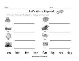 Rhyming worksheets for teaching and learning in the classroom or at home. Rhyming Words Worksheets Teachers Pay Teachers