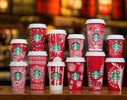 starbucks christmas cups. Wonderful Starbucks Starbucks Unveils 2016 Holiday Red Cups With Christmas I