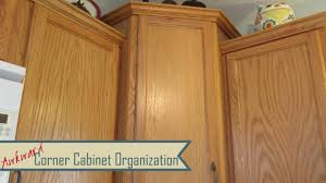 Corner Wall Cabinet Organizer Kitchen Organization Awkward Corner Cabinets Lazy Susans Youtube