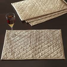 White Quilted Placemats   Wayfair & Harley Quilted Placemats (Set of 4) Adamdwight.com