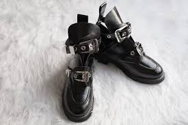 the balenciaga ceinture ankle boot costs a whopping 1 275 here s a pair of genuine leather