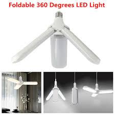foldable 360 led light deformable