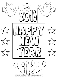 Printable Pictures New Year Coloring Pages 41 With Additional Free Coloring  Kids with New Year Coloring Pages