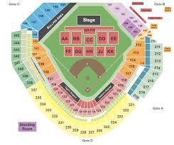 Seating Chart Comerica Park Detroit Mi Detroit Concert Tickets Seating Chart Comerica Park