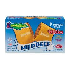 jamaican style patties mild beef