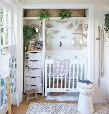 baby in one bedroom apartment. Contemporary One Closet Turned Crib With Baby In One Bedroom Apartment