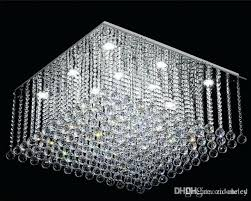 glass drop crystal chandelier black weston rectangular 40 small teardrop contemporary square rain luxury home imp