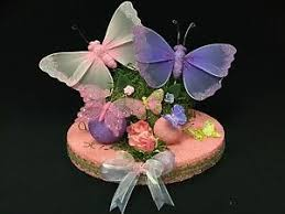 Butterfly Cake Topper Baby Shower Birthday Quince Sweet 16 Ebay
