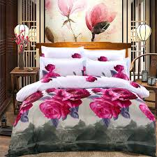 duvet cover flat sheet pillowcase 4pcs 3d family bedding sets duvet cover flat bed