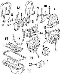parts com® honda prelude engine parts oem parts 1993 honda prelude si l4 2 3 liter gas engine parts