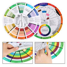 Artist Color Mixing Chart Details About Atomus Color Wheel Deluxe Artist Paint Mixing Guide Color Selection Tool Af