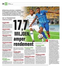 Gantoise Gazette - الصفحة الرئيسية