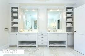 built in shower corner shelves bathroom vanity shelf