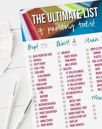 the ultimate list of painting tools with happily ever after etc