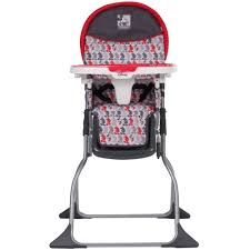 com disney baby simple fold plus high chair mickey line up baby