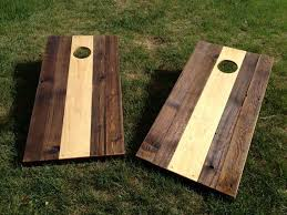 Wooden Corn Hole Game Cornhole Game Coloradojoes New And Reclaimed Coloradojoes Wooden 17