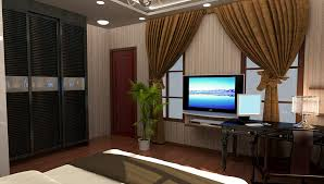modern bedroom with tv. Contemporary Bedroom Modern Bedroom TV And Curtains In Bedroom With Tv D