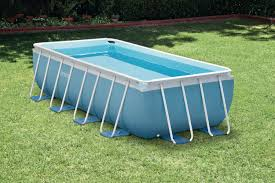 rectangle above ground swimming pool. Rectangular Above Ground Pools Size Rectangle Swimming Pool
