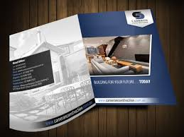 Cameron Design And Construction Construction Brochure Design For A Company By Hih7 Design