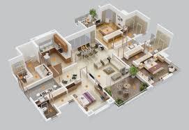 Modern 5 Bedroom House Designs 50 Three 3 Bedroom Apartment House Plans House Plans Bedroom