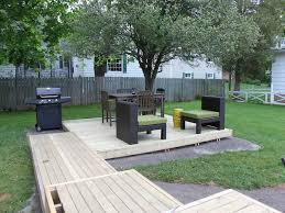 modern backyard makeover ideas with patio