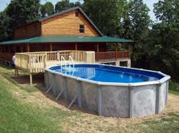 rectangle above ground pool sizes. Above Ground Pool With Deck Intex Easy Set Rectangle Sizes E