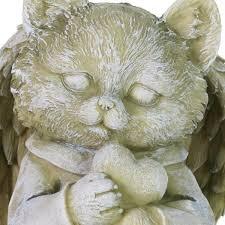 exhart cat angel garden statue 18435 rs