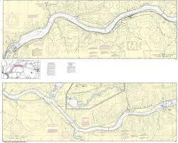 Noaa Nautical Chart 18546 Snake River Lake Herbert G West