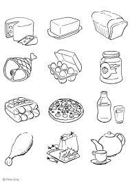Kleurplaat Voeding Afb 6933 Images