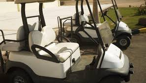golf cart seats can easily get dirty but are effectively cleaned in a few simple steps