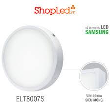 ĐÈN LED PANEL TRÒN ROMAN ELT8007S + CHIP LED SAMSUNG2835 + TIẾT KIỆM ĐIỆN  NĂNG chính hãng 164,000đ
