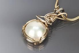 wire wrap pendant metalworking queenston beadoholique bead crafty artsy create art jewelry diy