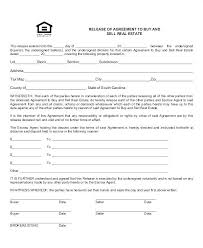 Property Release Form Template Sample Contract Forms With