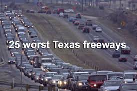 according to the 100 most congested roads list compiled by the texas a m transportation institute