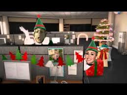 Merry Christmas Office Party Barack Obama Michelle Obama Miley Cyrus