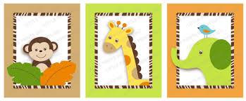 jungle animal printable nursery wall art instant download il fullxfull 234812432 jpg on safari animal wall art with il fullxfull 234812432 jpg little prints parties