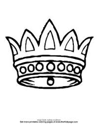 Small Picture King and Queens Crown Printable Templates Coloring Pages