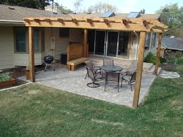 paver patio with pergola. Paver Patio With Pergola And Deck Ideas Decks Patios N