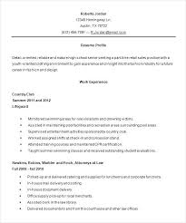 High School Resumes For College Extraordinary Good Objectives For Resumes For High School Students Objective For A